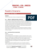 Aqp-Paracas-Ica-Nazca 3d-2n+Hs+Bus YTQP-2016