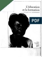l Education Et La Formation 1