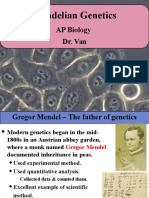 Mendelian Genetics(1)