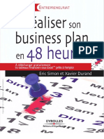 Durand, Xavier; Simon, Éric Réaliser Son Business Plan en 48 Heures