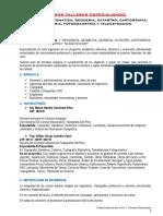 40 Cursos Talleres Especializados Presencial y a Distancia.