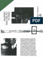 Warat, Luis Alberto - Manifestos para uma Ecologia do Desejo.pdf