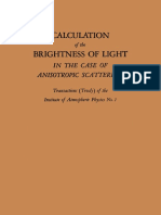 E. M. Feigelson, M. S. Malkevich, S. Ya. Kogan, T. D. Koronatova, K. S. Glazova, M. a. Kuznetsova Auth. Calculation of the Brightness of Light in the Case of Anisotropic Scattering