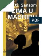 C.J. Sansom - Zima u Madridu