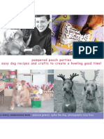 00147 Pampered Pooch Parties a family celebration book by Patricia Griecci