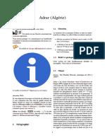 Adrar (Algérie) Wiki