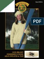 Aran Sweater Knitting Pattern