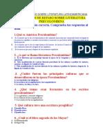 Guía de Repaso Sobre Literatura Latinoamericana