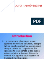 Transports Membranaires