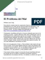 El Problema Del Mal _ Reasonable Faith