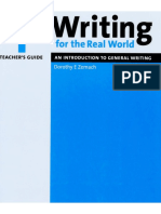 Writing for the Real World 1 (Teacher's Guide)