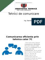 Comunicarea Eficienta - Tehnica Celor 7 C