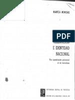 Ideologia Alienacion e Identidad Montero, Maritza 1984