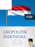 Geopolitik Indonesia PPT