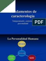 Fundamentos de caracterología