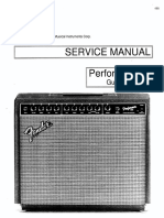 Fender Performer-650 Guitar Amplifier