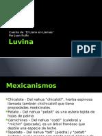Luvina (Análisis)