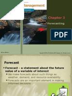03 Forecasting