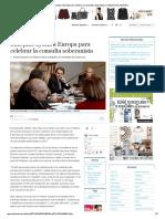 NOTICIA El Mundo Mas Pide Ayuda a Europa Para Celebrar La Consulta Soberanista _ Cataluña _ EL MUNDO