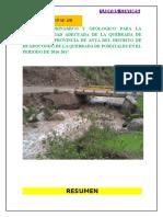Informe de Huarocondo