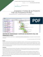 Gestión de Cronograma y Costos de un Proyecto Vial con Primavera P6 R8.pdf