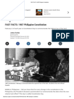 FAST FACTS_ 1987 Philippine Constitution