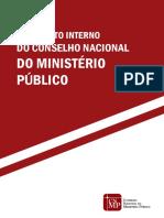 Regimento Interno Do CNMP 27-10-2016