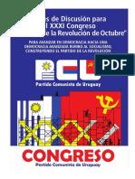 Bases de Discusión Para El XXXI Congreso Del PCU