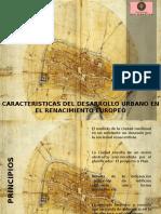 7-Caracteristicas Del Desarrollo Urbano en El Renacimiento Europeo