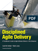 Disciplined Agile Delivery [2012, Ambler & Lines]