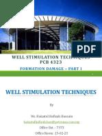 3. WST - Formation Damage Part 1