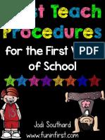 procedurestoteachonthefirstdayofschool