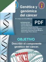 Genetica y Genomica Del Cancer
