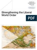 Strengthening Liberal World Order Wef