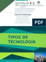 Tema 1.5 Tipos de Tecnologia
