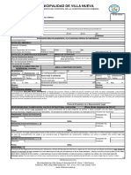 Formulario General Para Construcciones Mayores Residencial-no Residencial