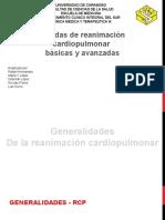 Seminario de REANIMACION CARDIOPULMONAR RCP