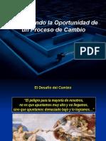 MAXIMIZANDO LA OPORTUNIDAD EN UN PROCESO DE CAMBIO.ppt