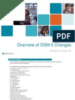 Dsm 5 Overview