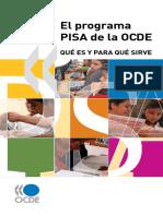 EL PROGRAMA DE PISA DE LA OCDE-QUÉ ES Y PARA QUÉ SIRVE.pdf