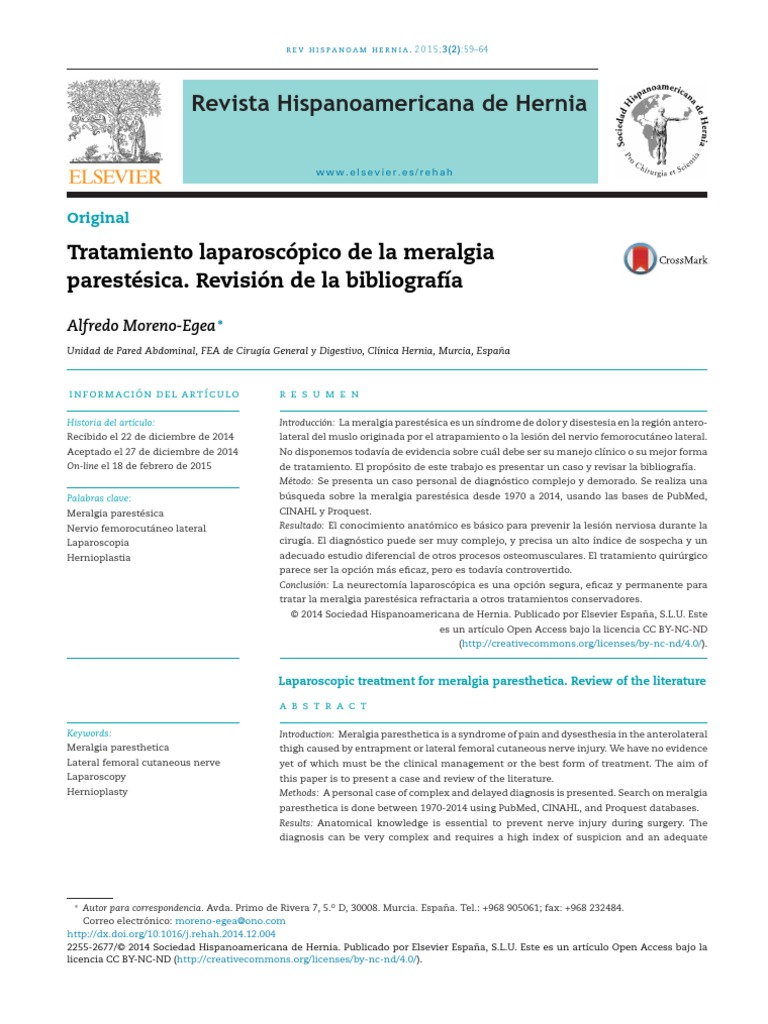 meralgia parestesica fisioterapia pdf