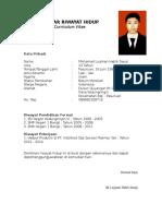 Daftar Riwayat Hidup.doc