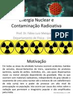 Energia Nuclear e Contaminação Radioativa.