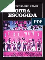 Obras Escogidas_cecilio Del Valle