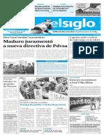 Edición Impresa Elsiglo 01-02-2017