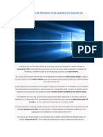 La Primera Versión de Windows 10 Se Quedará Sin Soporte en Marzo