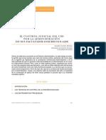 [2003] Control Judicial Del Uso Por La Administración de Sus Facultades Discrecionales - Faustino Cordón