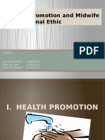 Health Promotion and Midwife Professional Ethic