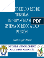 Red de Tuberías Interparcelarias