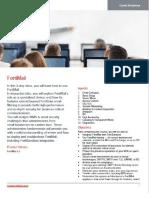 FortiMail Course Description-Online